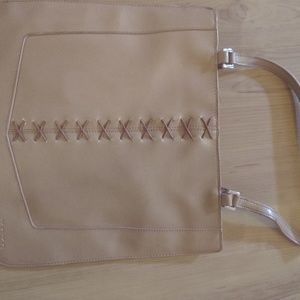 """Xoxo purse 12"""" wide and 11""""long, vinyl material"""